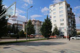 Odunpazarı'nda 4 parkın basketbol sahaları yenilendi
