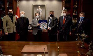 Başkan Ataç Dobruca göçmenlerini ağırladı
