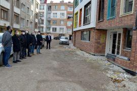 Başkan Ataç, Erken Çocukluk Eğitim Merkezi inşaatını yerinde inceledi