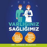 """Başkan Ataç'tan sağlık çalışanlarına: """"Varlığınız sağlığımızdır"""""""