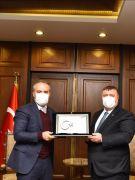 Beylikova'dan Bursa Belediye Başkanlığına ziyaret