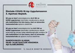 Covıd-19 aşı uygulamasının 3'ncü aşaması başladı