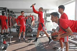 Eskişehirspor'da çalışmalar devam ediyor