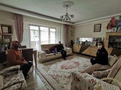 Jandarma Komutanı Atasoy'dan şehit ailesi ve gazi ziyareti