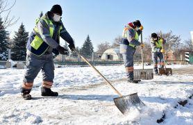 Kırsal ve merkezde kar ile mücadele sürüyor