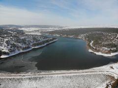 Kuraklık tehlikesi altında olan Musaözü Göleti'nde su seviyesi arttı