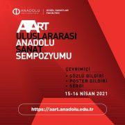 Uluslararası Anadolu Sanat Sempozyumu başlıyor