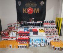 Elektronik eşya kaçakçılığı yapan 5 kişi yakalandı