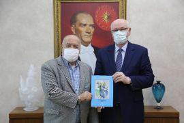 Hasan Kırımer'den Başkan Kurt'a teşekkür ziyareti