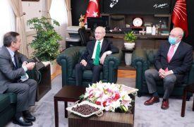 Başkan Ataç başkent ziyareti sırasında Kılıçdaroğlu ile buluştu