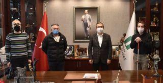 EGES'ten Başkan Ataç'a ziyaret