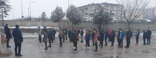 Eskişehir'de 'yüz yüze eğitim' için ilk ders zili çaldı