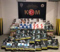 Eskişehir'de kaçak tütün operasyonunda 8 gözaltı
