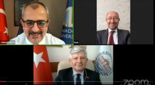 """Anadolu'da """"COVID-19 Pandemisi: Nasıl Bir Dönemden Geçiyoruz?"""" söyleşisi"""