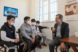 Başkan Ataç yenilenen merkezi inceledi