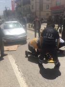 Beylikova'da trafik kazası, 1 ağır yaralı