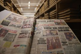 Binlerce ciltten oluşan gazete arşivi geçmişe ışık tutuyor