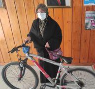 Çalınan bisiklet sahibine teslim edildi
