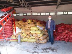 Eskişehir'de patates ve soğan alımları sürüyor
