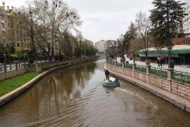 Eskişehir'de renkli bahar manzaraları