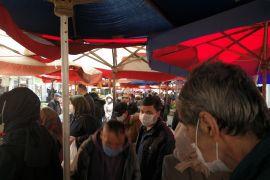 Haftanın son semt pazarında yoğunluk yaşandı