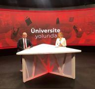Rektör Erdal, aday öğrencilere Anadolu Üniversitesi'ni anlattı
