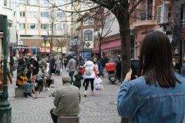 Sokak müzisyenlerine zabıta engeli