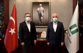 ETO Başkanı Güler'den, Ataç'a ziyaret