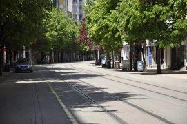 Eskişehir Ramazan Bayram'ında sessizliğe büründü