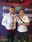 Eskişehirli milli sporcu Alperen'den Avrupa'da büyük başarı