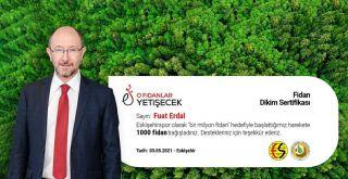 Eskişehirspor'a en yüksek bağış Prof. Dr. Fuat Erdal'dan