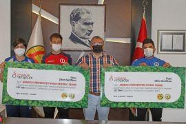 Eskişehirspor'un fidan kampanyasına destekler devam ediyor