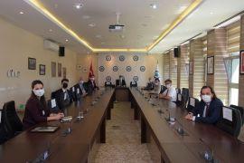İTÜ Mezunlar Derneği'nden Rektör Prof. Dr. Kemal Şenocak'a ziyareti