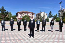 İnönü'de 19 Mayıs törenle kutlandı
