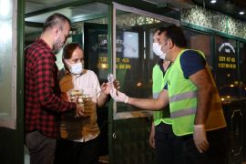 Odunpazarı Belediyesinden gece mesaisinde olan çalışanlara tatlı sürprizi