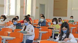 ÜYEP yeni öğrencileri için sınav yaptı
