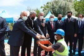 Vali Ayyıldız, Hz. Ali Camii temel atma törenine katıldı