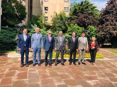 Başkan Bozkurt'tan Kültür ve Turizm Bakanlığına ziyaret