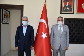 MHP Eskişehir Milletvekili Sazak'tan Başkan Bozkurt'a ziyaret