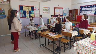(ÖZEL) Başarıları ile bilinen okulun öğrencileri sıralarına kavuştu