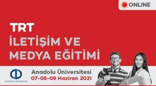 """TRT ve Anadolu Üniversitesi iş birliğiyle """"İletişim ve Medya Eğitimi"""" düzenlendi"""