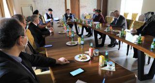 Tarım Reformu Genel Müdürü Üstün sorun ve talepleri dinledi