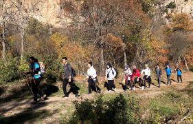 Tepebaşı'ndan gençler için doğa yürüyüşü